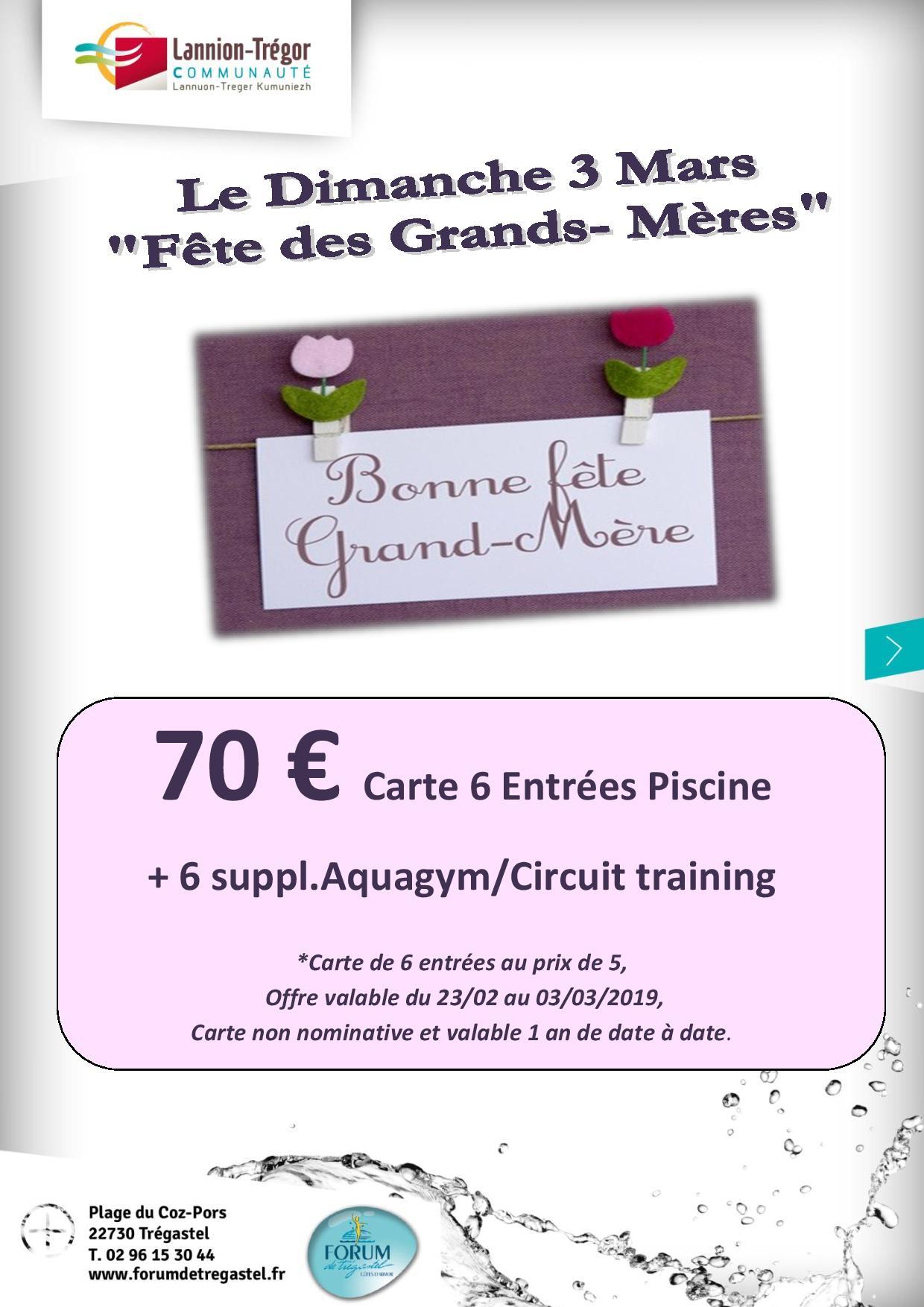 Fête Des Grands Mères Forum De Tregastel